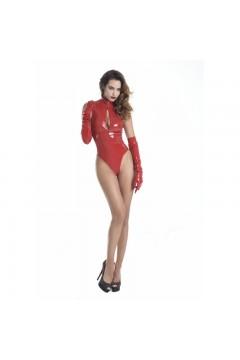 Body vinyle rouge Manon - Patrice Catanzaro