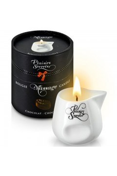 Bougie de massage gourmande chocolat - Plaisir Secret