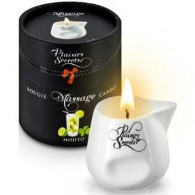 Bougie de massage gourmande mojito - Plaisir Secret