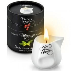 Bougie de massage gourmande ylang patchouli - Plaisir Secret