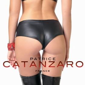 Shorty laqué noir Béatrice - Patrice Catanzaro