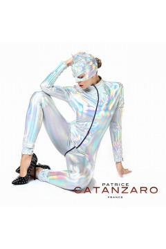 Combinaison SWEETY Vinyl argent - Patrice Catanzaro