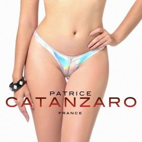 String ouvert Annabelle Vinyle argent - Patrice Catanzaro