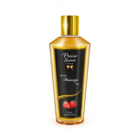 Huile de massage sèche fraise 250 ML