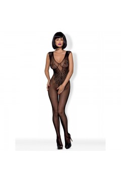 N112 Bodystocking - Noir