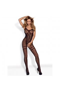 F213 Bodystocking - Noir